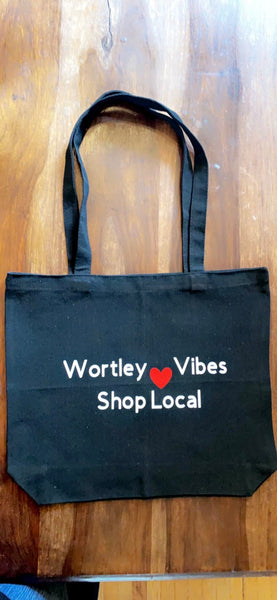 Wortley Vibes Tote Bags Shop Local