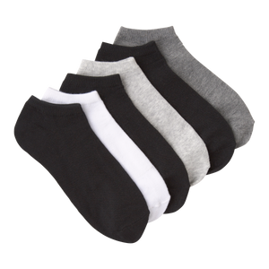 Basic Ankle Socks - 6 Pair Pack