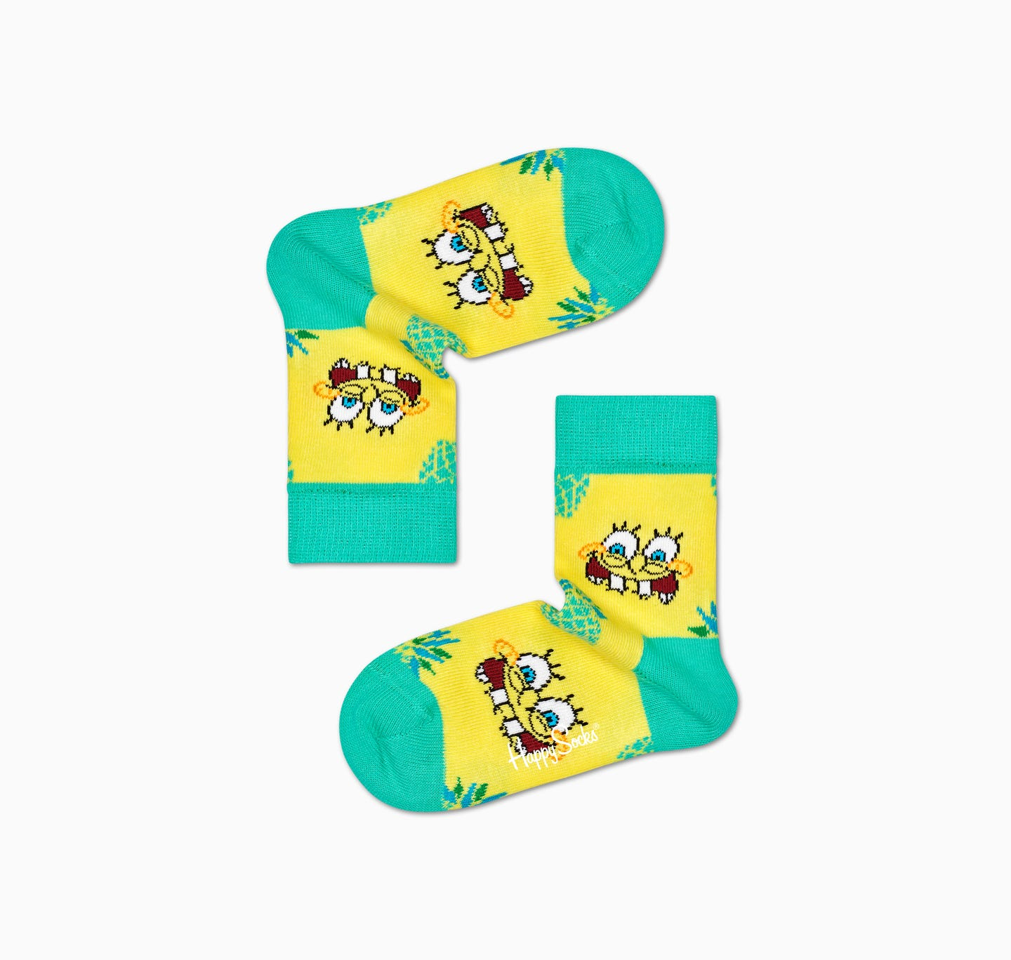 Kids SpongeBob Fineapple Surprise Sock