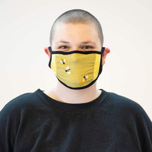 Buzz Words Face Mask