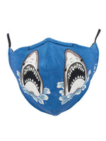 Load image into Gallery viewer, Shark Attack Face Mask