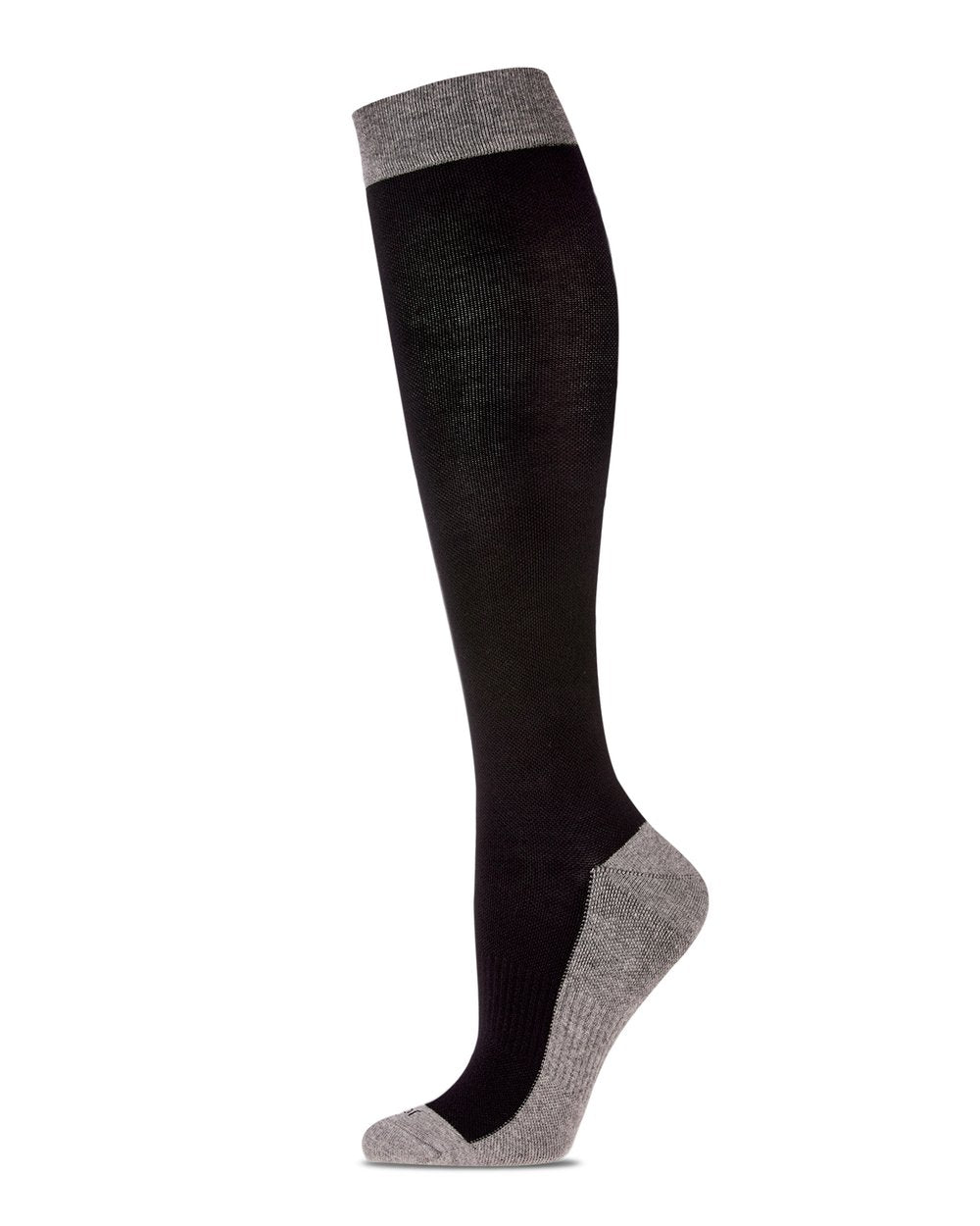 Two Tone Contrast Compression Socks