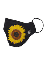 Load image into Gallery viewer, Sunflower Face Mask