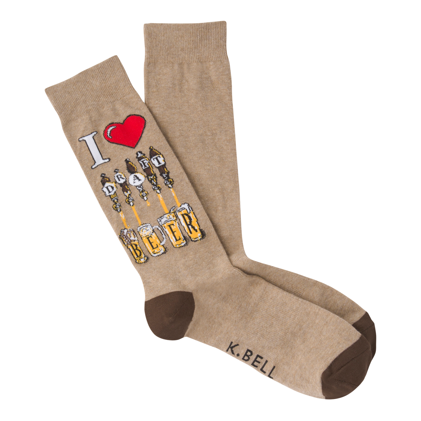 Draft Beer crew socks