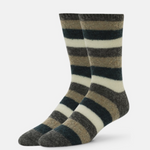 Load image into Gallery viewer, Lexy Striped Merino Crew Sock