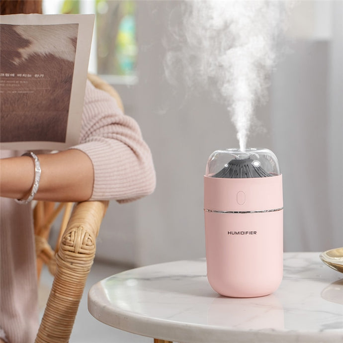 Mini usb ultrasonic humidifier mist maker essential oil diffuser