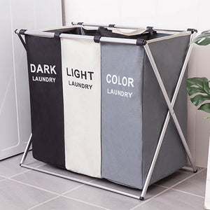 3 Sizes Foldable Dirty Laundry Basket Organizer Printed