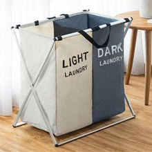 Load image into Gallery viewer, 3 Sizes Foldable Dirty Laundry Basket Organizer Printed