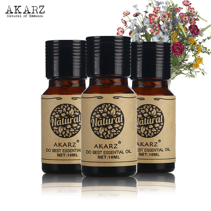 Jasmine Rose Grapefruit essential oil sets AKARZ