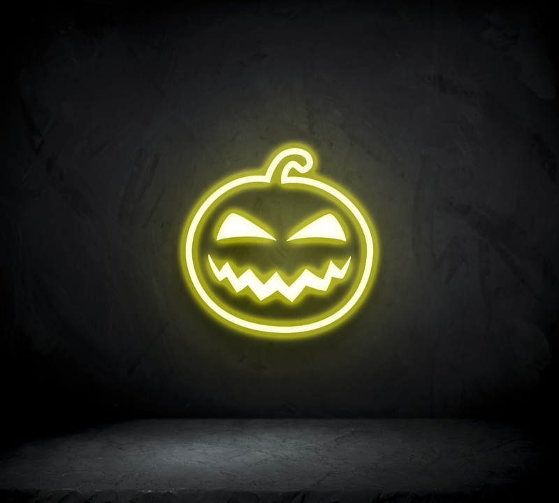 Pumpkin Neon Sign