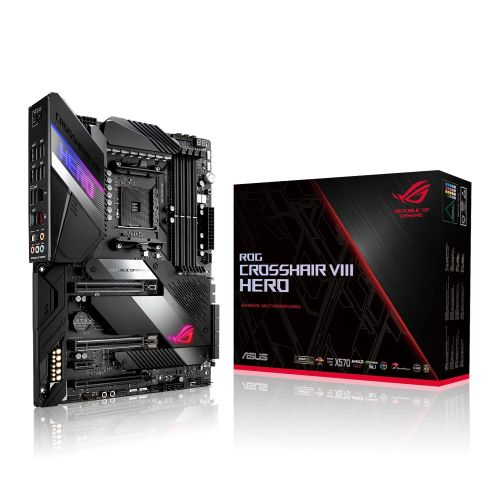 Asus ROG CROSSHAIR VIII HERO (WI-FI) motherboard bundle