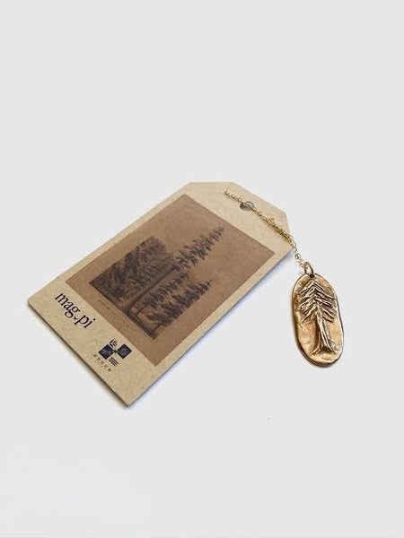 Magpi Redwood Pendant Necklace - Mag.Pi