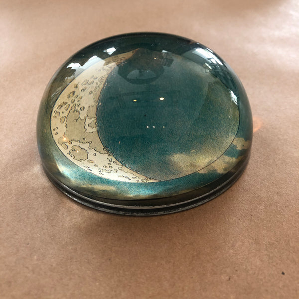 Crescent Dome Paperweight - Mag.Pi