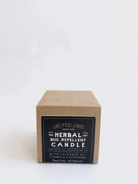 Herbal Bug Repellent Candle - Mag.Pi
