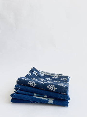Made in California Indigo Scarf #4 - Mag.Pi