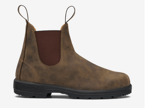 Women's 550 Chelsea Boot in Rustic Brown - Mag.Pi