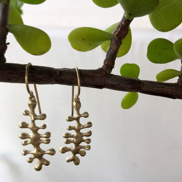 Small Algae Earrings - Mag.Pi