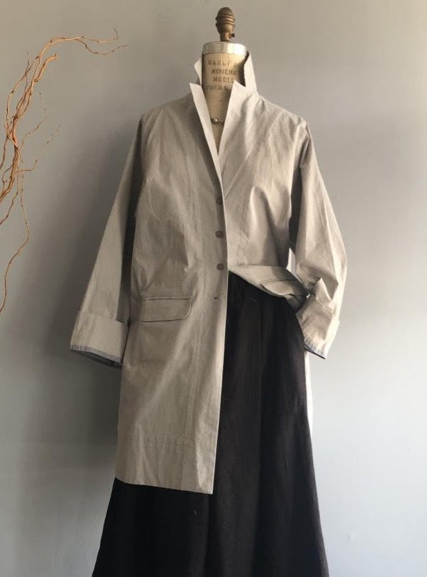 Grey Workman Coat - Mag.Pi