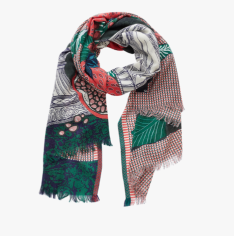 Stanislas Scarf in Green - Mag.Pi