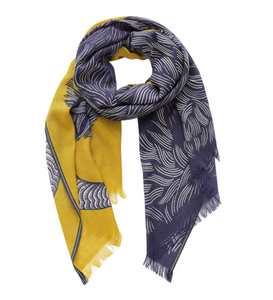 Yako Scarf in Yellow - Mag.Pi