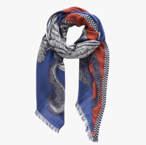 Germain Scarf in Blue - Mag.Pi