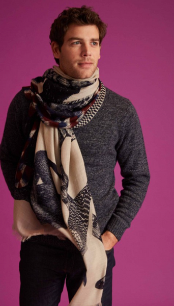 Germain Scarf in Natural - Mag.Pi