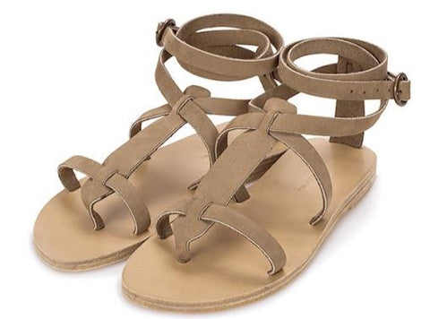 Sandy Cay Taupe Sandal - Mag.Pi