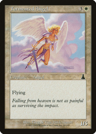 Tormented Angel [Urza's Destiny] | Baxter's Game Store