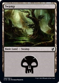 Swamp (296) [Commander 2019] | Baxter's Game Store