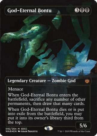 God-Eternal Bontu SDCC 2019 EXCLUSIVE [San Diego Comic-Con 2019] | Baxter's Game Store