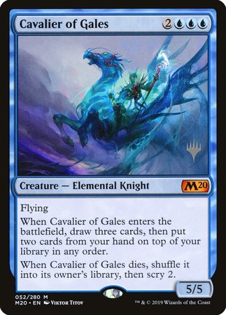 Cavalier of Gales [Core Set 2020 Promos] | Baxter's Game Store