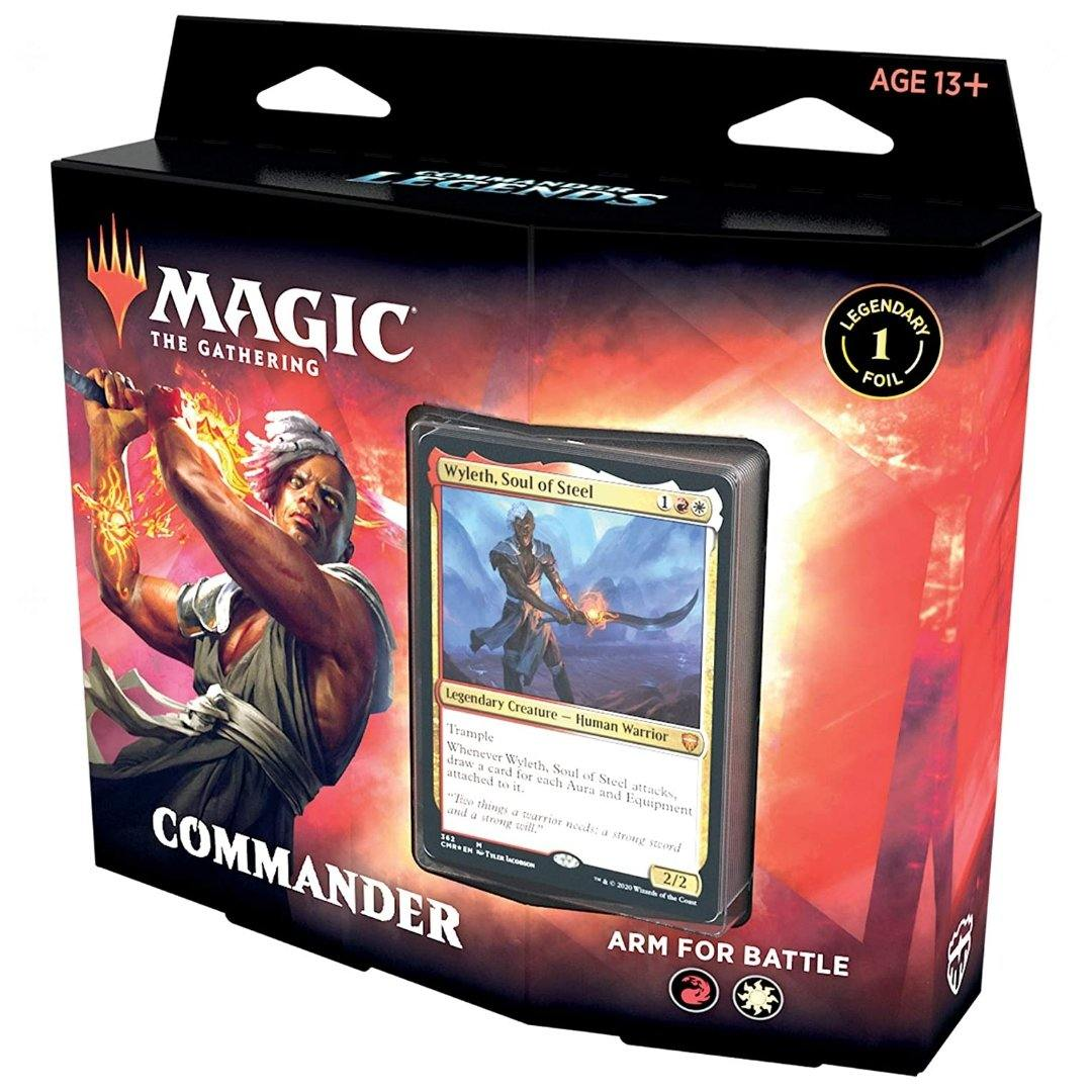 Commander Legends Arm For Battle Deck | Magic: The Gathering | Baxter's Game Store