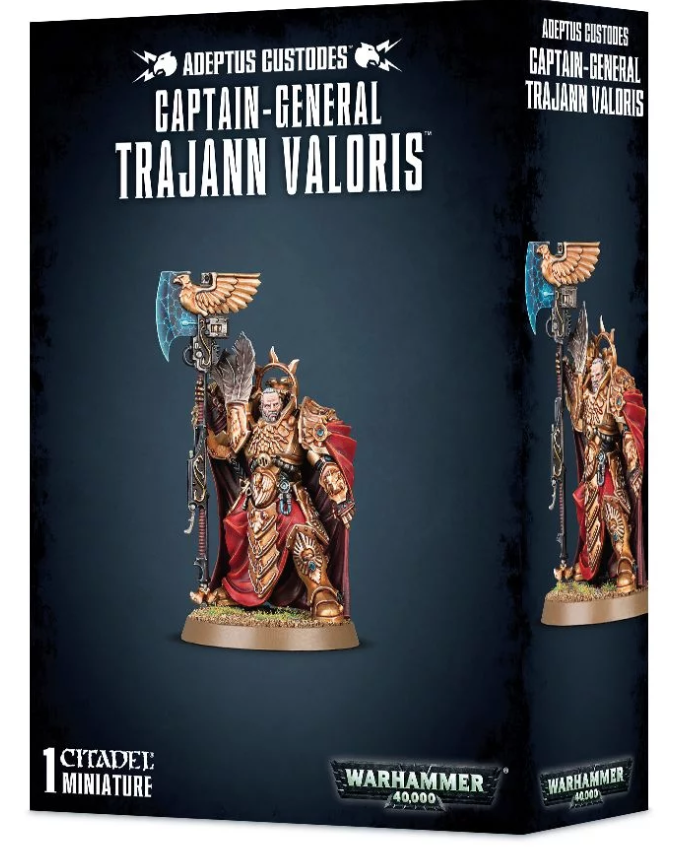 Captain-General Trajann Valoris | Baxter's Game Store