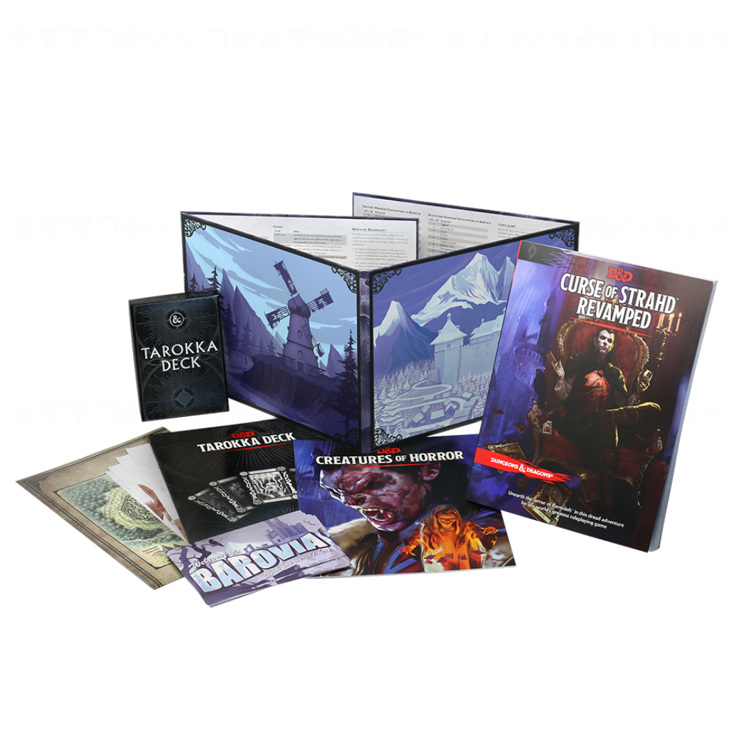 Curse of Strahd Revamped Coffin Box Set | Baxter's Game Store