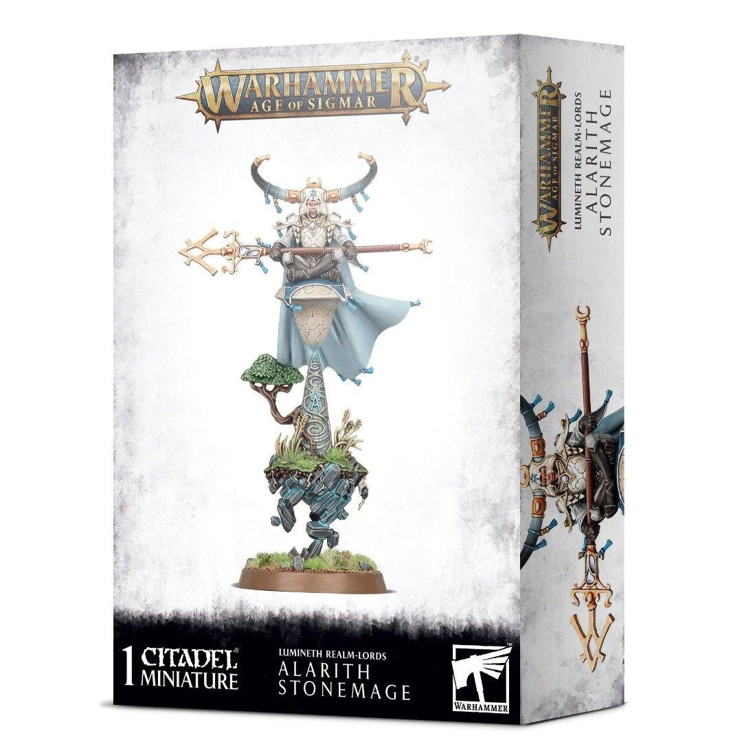 Lumineth Realm-Lords Alarith Stonemage | Warhammer Age of Sigmar | Baxter's Game Store