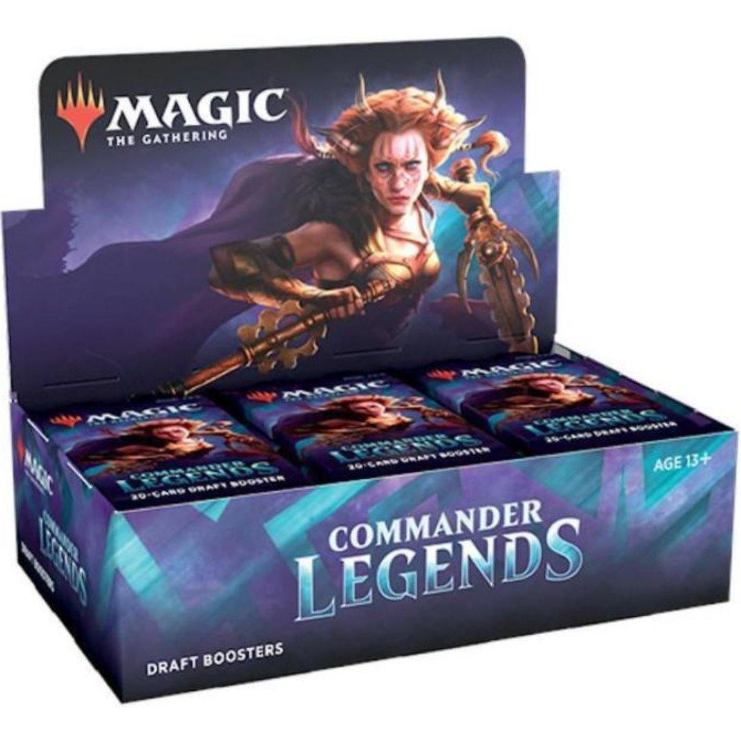 Commander Legends Draft Booster Box | Magic: The Gathering | Baxter's Game Store