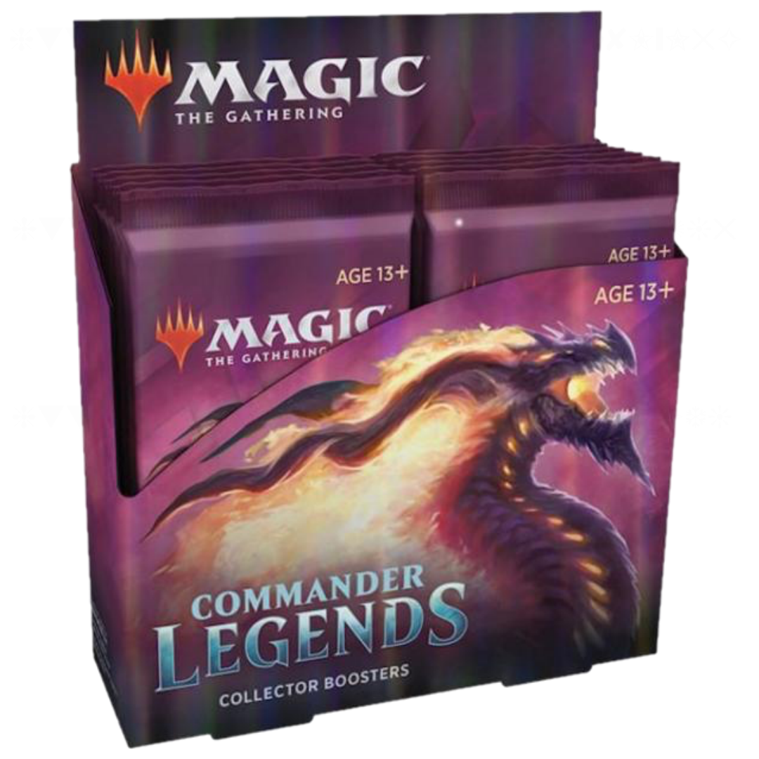 Commander Legends Collectors Booster Box | Magic: The Gathering | Baxter's Game Store