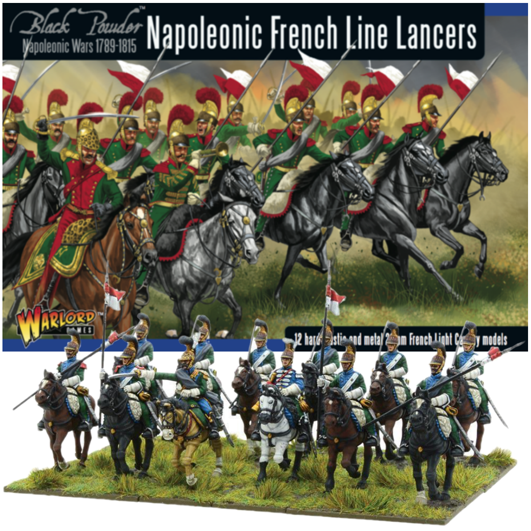 Napoleonic French Line Lancers | Black Powder | Warlord Games | Baxter's Game Store