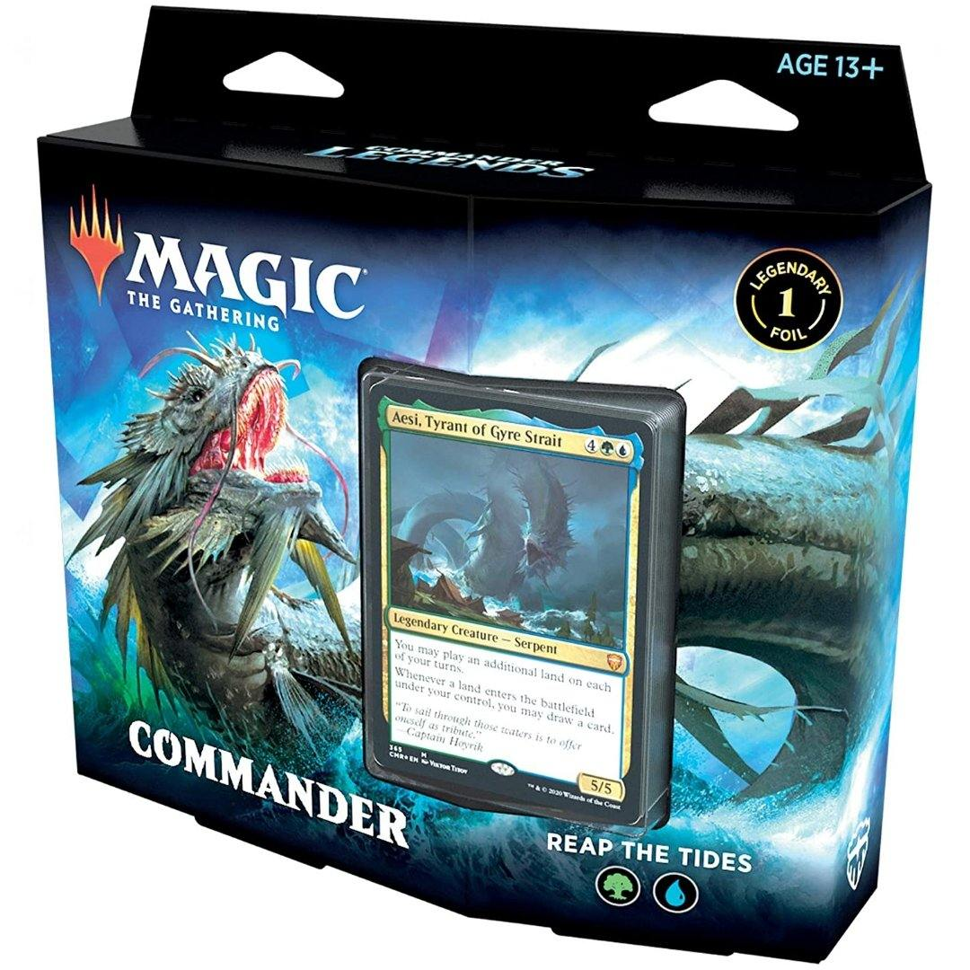 Commander Legends Reap The Tides Deck | Magic: The Gathering | Baxter's Game Store
