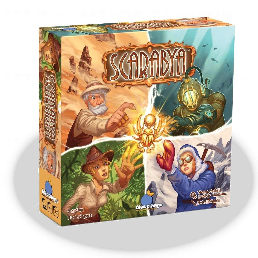 Scarabya Board Game - Blue Orange Games | Baxter's Game Store