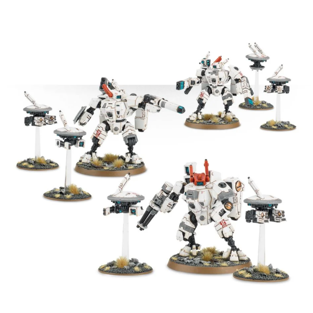 Tau Empire XV8 Crisis Battlesuits | Baxter's Game Store