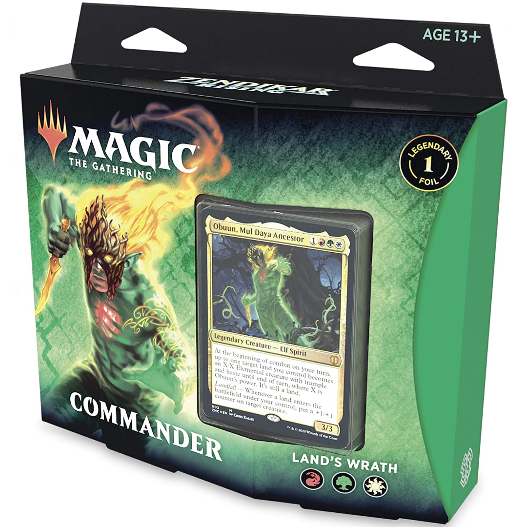 Zendikar Rising Commander Land's Wrath Deck | Baxter's Game Store