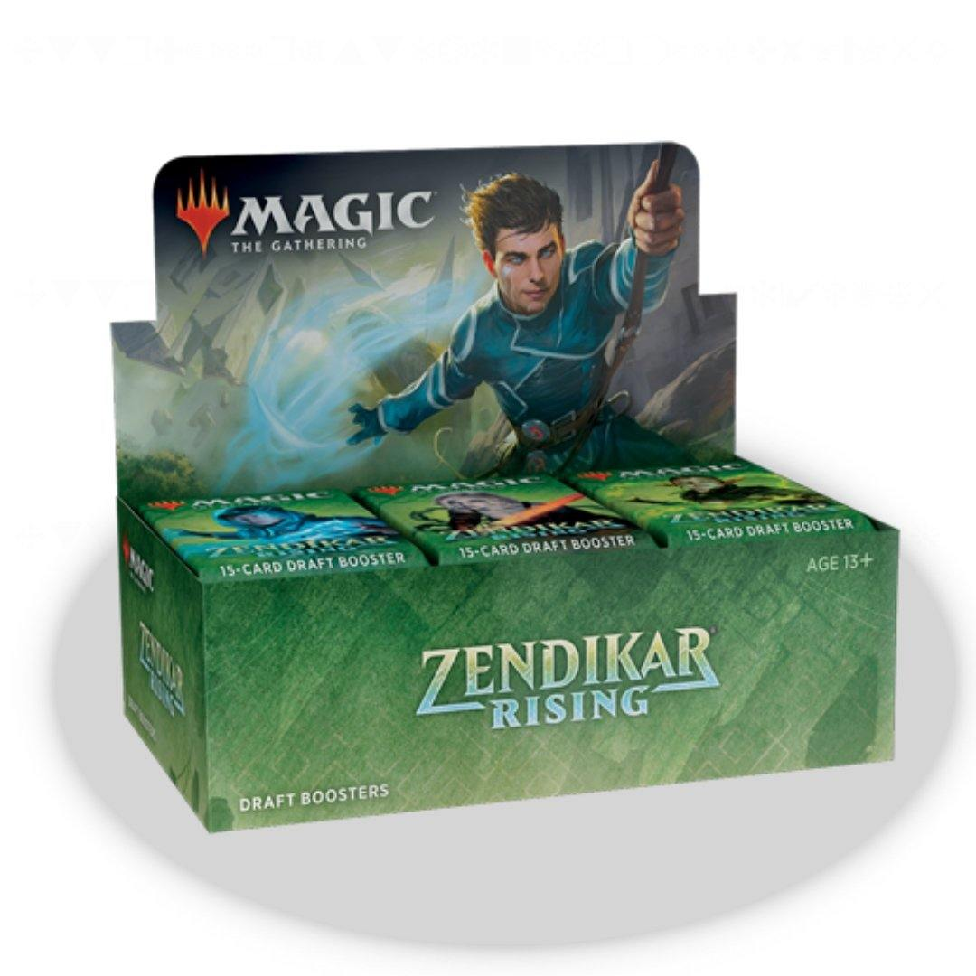 Zendikar Rising Draft Booster Box | Magic: The Gathering | Baxter's Game Store