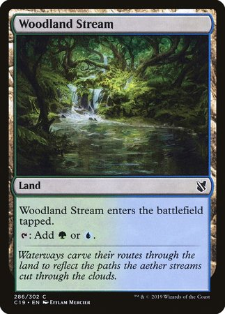 Woodland Stream [Commander 2019] | Baxter's Game Store