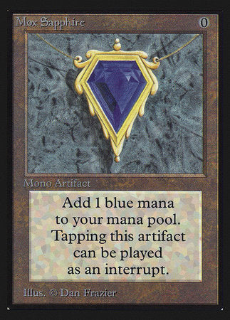 Mox Sapphire (IE) [Intl. Collectors' Edition] | Baxter's Game Store