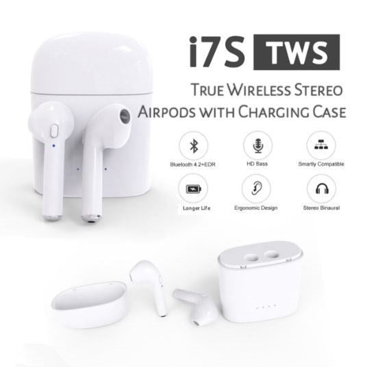 i7 TWS Wireless Headset/Earbuds