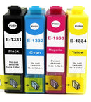 EPSON 133 T133 Compatible Ink Cartridges Full set