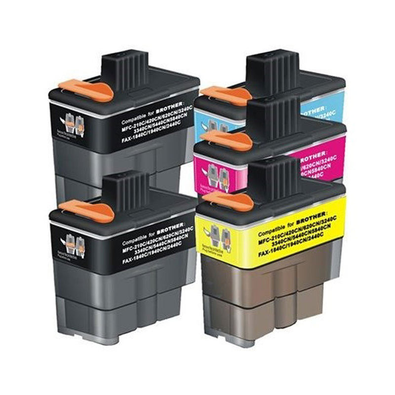 Brother LC41 / LC47 Cartridges x 4