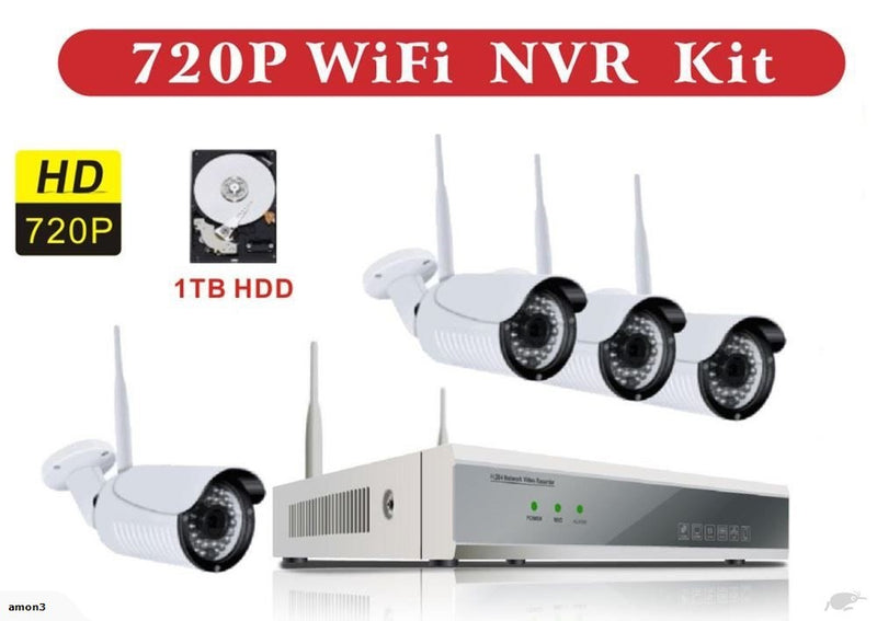 CCTV Wireless Security IP Camera 720P