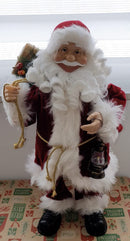 Standing 45cm Christmas Home Decor Santa Claus!
